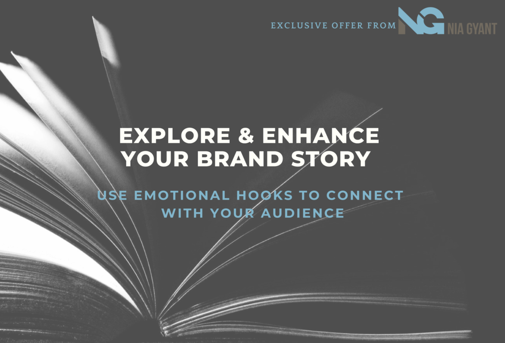 Purchase the Exclusive Brand Story Survey - Nia Gyant Marketing & Branding Tools